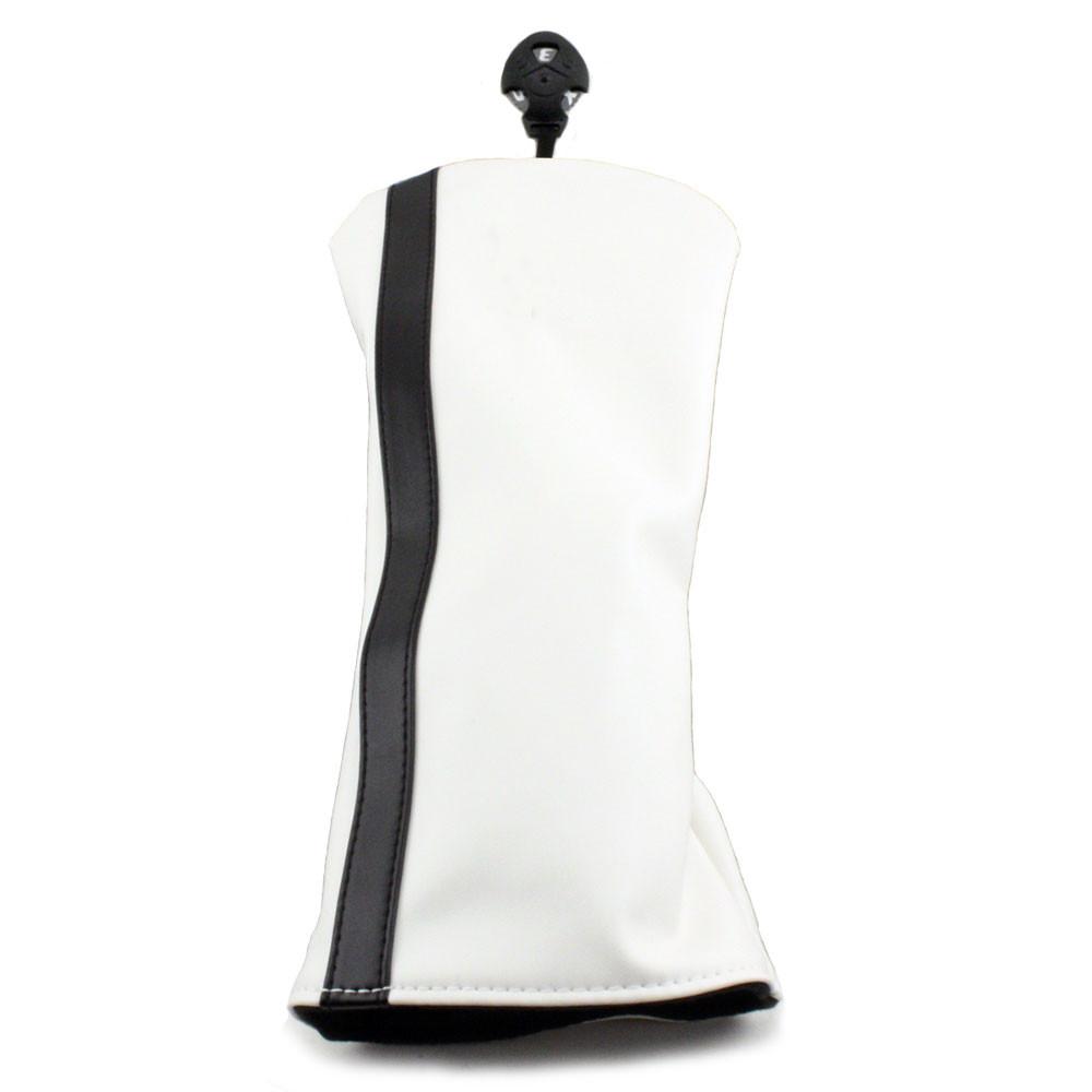 Hurricane Golf Racer Hybrid Headcover White/Black