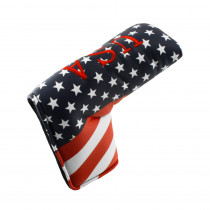 Hurricane Golf USA Blade Putter Headcover - Hurricane Golf