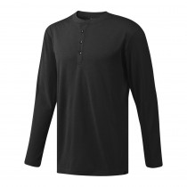 Adidas Men's Golf Adicross No-Show Range Henley Shirt