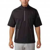 Adidas Climaproof Heathered Short Sleeve Rain Jacket