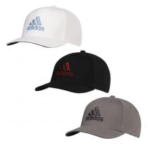 Adidas Heather Logo Fitted Cap - Adidas Golf