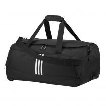 Adidas Rolling Duffle Luggage Black - Adidas Golf