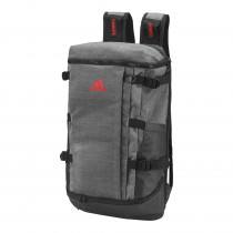 Adidas Rucksack Backpack Dark Grey Heather/Scarlet