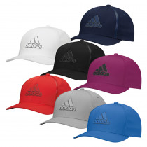 Adidas Tour Delta Textured Fitted Hat - Adidas Golf