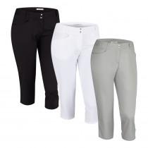 Women's Adidas Essentials Lightweight Capri Pant - Adidas Golf