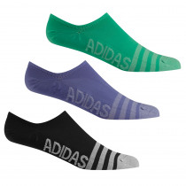 Women's Adidas No Show Socks 3-Pack