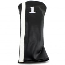 Hurricane Golf Racer Driver Headcover Black/White