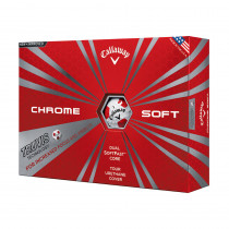 Callaway New Chrome Soft with Truvis Technology - Callaway Golf