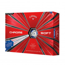 2018 Callaway Chrome Soft Truvis Stars And Stripes Golf Balls - Callaway Golf