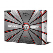 2018 Callaway Chrome Soft X Golf Balls - 1 Dozen