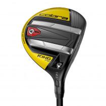 Cobra King F9 Speedback Black/Yellow Fairway Wood - Cobra Golf