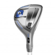 Women's Cobra King F6 Adjustable Silver/Blue Hybrid - Cobra Golf
