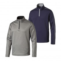 PUMA Core Fleece 1/4 Zip Golf Popover - PUMA Golf
