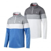 PUMA PWRWARM 1/4 Zip Golf Popover - PUMA Golf