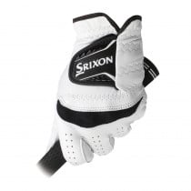 Srixon Cabretta Leather Golf Glove White/Black