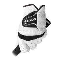 Srixon Cabretta Leather Golf Glove White/Black