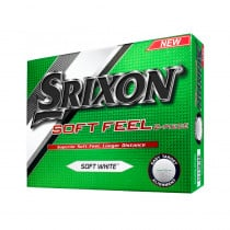 Srixon Soft Feel Pure White Golf Balls - Srixon Golf