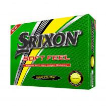 2018 Srixon Soft Feel Golf Balls Tour Yellow - Srixon Golf