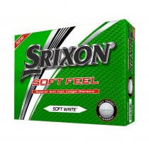 2018 Srixon Soft Feel Golf Balls Soft White - Srixon Golf