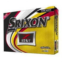 2019 Srixon Z-Star Pure White Golf Balls - 1 Dozen