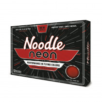 Noodle Neon Matte Red Golf Balls - TaylorMade Golf