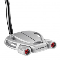 TaylorMade Spider Tour Diamond Silver Double Bend Putter - TaylorMade Golf