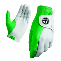 TaylorMade Tour Preferred Vivid Glove Vivid White/Kelly