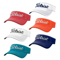 2015 Titleist Contrast Stitch Adjustable Visor - Titleist Golf