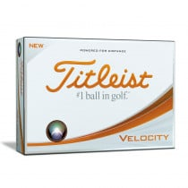 Titleist Velocity White Golf Balls - Titleist Golf