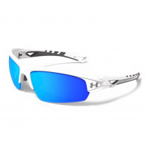 Shiny White/Charcoal/Grey/Blue Multi Lens