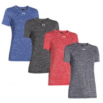 Women's Under Armour Twisted Tech Locker Tee - Under Armour Golf
