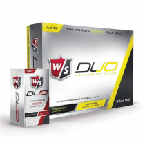 Wilson Staff Duo Yellow Golf Balls - Wilson Staff Golf