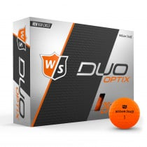 Wilson Staff Duo Soft Golf Balls Optix Harvest Moon - Wilson Staff Golf