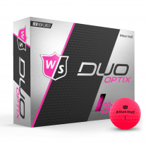 Wilson Staff Duo Soft Golf Balls Optix Proton Pink - Wilson Staff Golf
