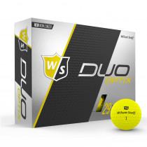 Wilson Staff Duo Soft Golf Balls Optix Electric Glow - Wilson Staff Golf