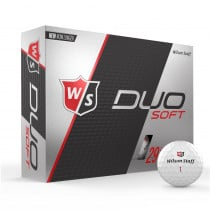 Wilson Staff Duo Soft Golf Balls - Wilson Staff Golf