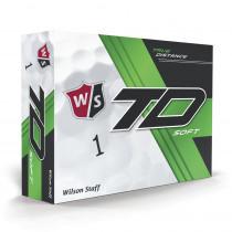 Wilson Staff True Distance Golf Balls - Soft White - Wilson Staff Golf