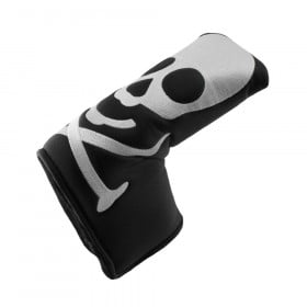 Hurricane Golf Skull/Black Blade Putter Headcover