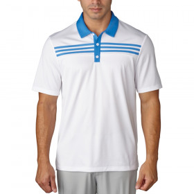 Adidas 3-Stripes Textured Polo