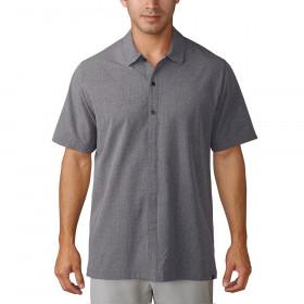 Adidas Men's Golf Adicross Beyond 18 Oxford Short Sleeve Shirt
