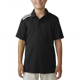Boy's Adidas Climacool 3-Stripe Polo