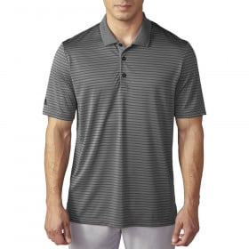 Adidas ClimaCool 2-Color Pencil Stripe Polo