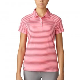 Women's Adidas Essentials Double Stripe Polo