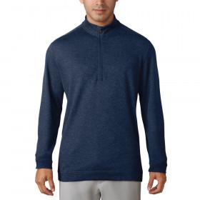 Adidas Wool Quarter-Zip Golf Pullover