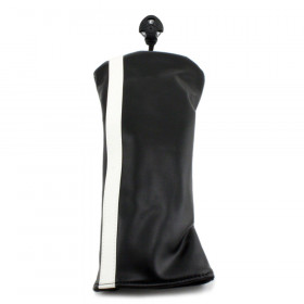 Hurricane Golf Racer Hybrid Headcover Black/White