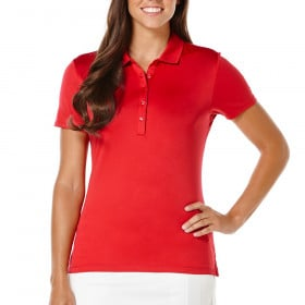 Women's Callaway Opti-Shield Solid Polo