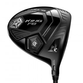 Cobra King F8 Adjustable Black Driver