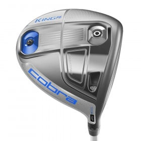 Women's Cobra F6 Silver/Blue Adjustable Driver