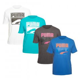 PUMA Contrast Suede T-Shirt