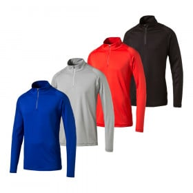 PUMA Tech 1/4 Zip Golf Popover Cresting